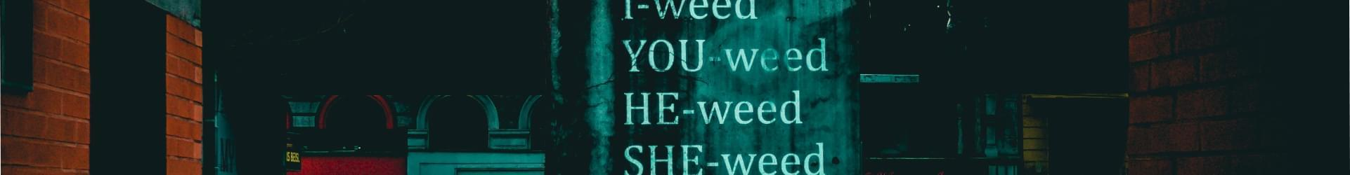 Weed banner image